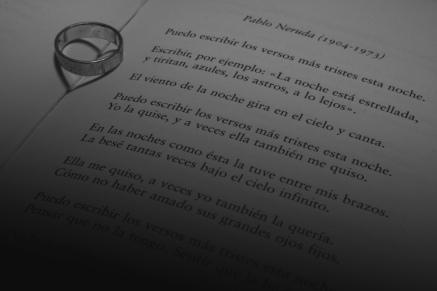 Amor por la poesía