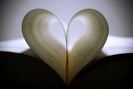 Corazón en blanco