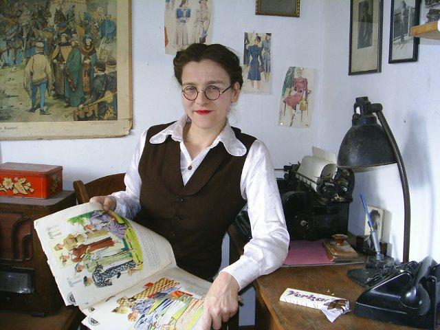 Jo Teeuwisse, autora de este proyecto.